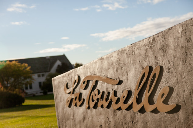 La Tourelle is located just a mile past Ithaca College on Route 96B.