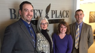 Ithaca team at Bailey Place Insurance: Matt Pitcher, Gale Miller, Courtney Holt and Jeremy Boylan