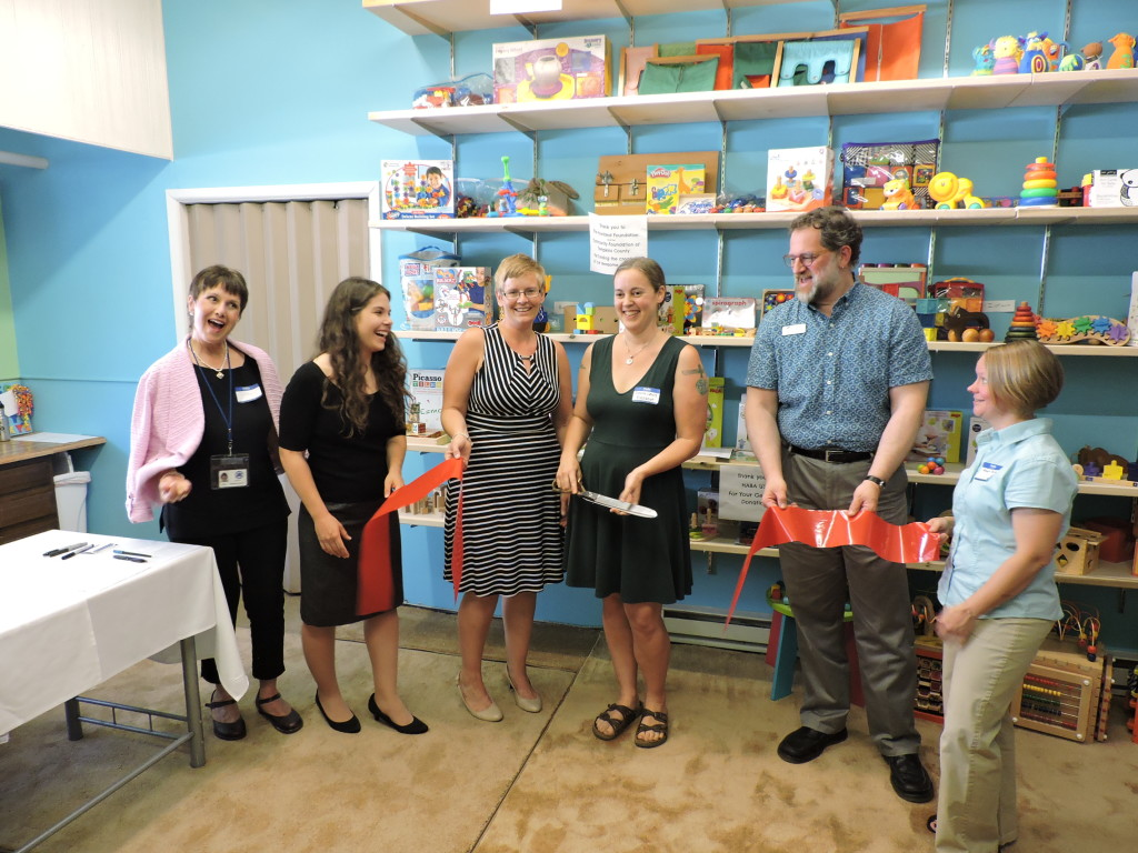Finger Lakes Toy Library Ribbon Cutting