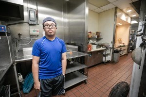 Hua Zheng works for Hilton in a permanent position. His employment was initially supported by Challenge with a job coach who helped us with training and supporting Hua early on. His coach phased out from a daily support to weekly to less and less. Hua is aggressively working towards his GED right now and attends classes regularly to help achieve this goal. The Hilton Garden Inn supports Hua with a flexible schedule, allowing him to continue his employment but also give him the time necessary to study and attend classes to help support him in this endeavor.