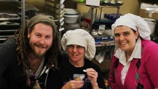 Pictured (From Left To Right): Ryan Notarpole, Employment Specialist at Challenge Workforce Solutions; Danya S., employee at Life's So Sweet Chocolates; Darlynne Overbaugh, Owner, Life's So Sweet Chocolates.